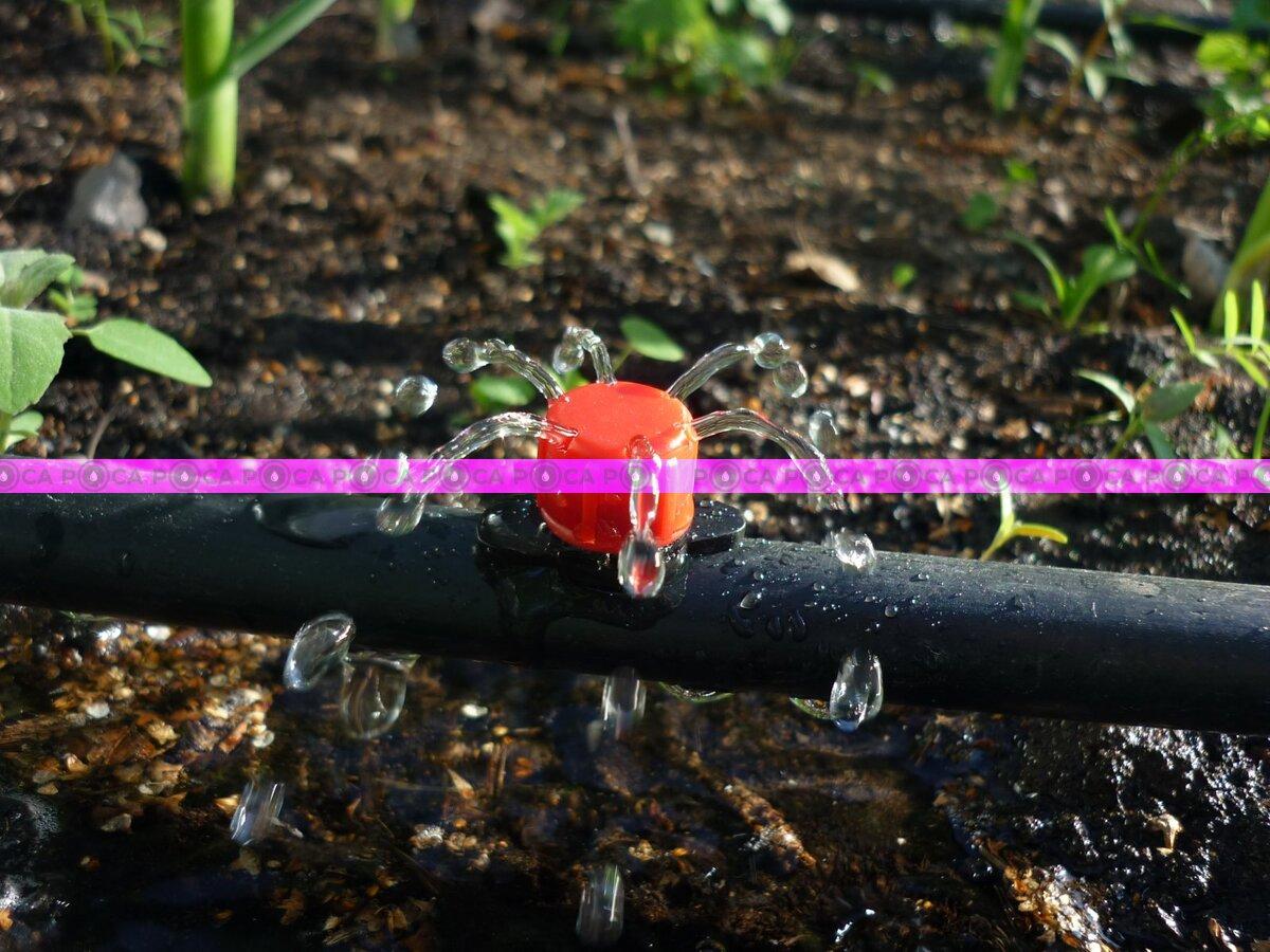Регулируемая капельница форсунка система капельного полива Irritec (от 0 до 40 л/ч)