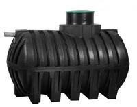 Емкость в грунт, АКВАТЕК накопительный бак AquaStore-5, 5000л (черная)