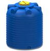 Емкость цилиндрическая вертикальная 5000 литров (синяя)