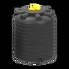 Емкость 2000 литров вертикальная пластиковая черная